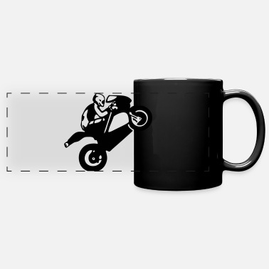 Superbike superbike - Panoramic Mug
