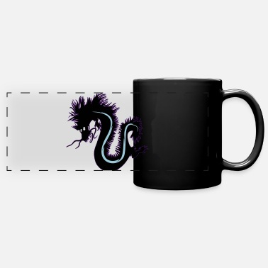 Dragon shadow ( Ombre chinoise ) - Mug panoramique