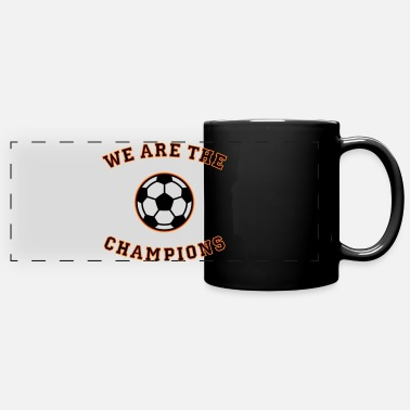Schland We are the champions (black - red - gold) - Panoramic Mug