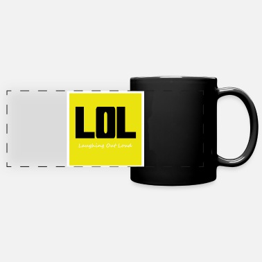 Lol lol - Mug panoramique uni