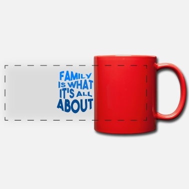 Familie Family - Love - Panoramic Mug