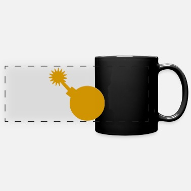 Pirate bomb - Panoramic Mug