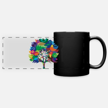 Overbirded arbre - Mug panoramique