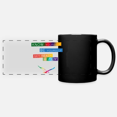 Philosophy Get ready to fly - Panoramic Mug