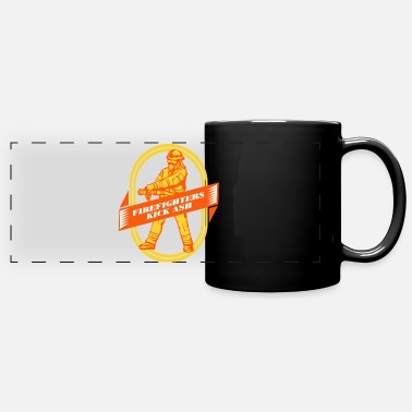 Fire Extinguisher Fire extinguishing fire extinguishing fire extinguishing gift - Panoramic Mug