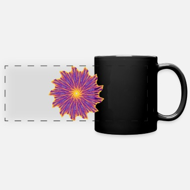 Mathematics Chakra Mandala Mantra OM Chaos Star Circle 9112pla - Panoramic Mug