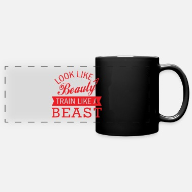 Bless You Fitness training cardio endurance saying gift - Panoramic Mug