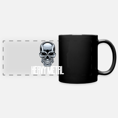 Band Heavy metal metal music rock music skull music - Panoramic Mug