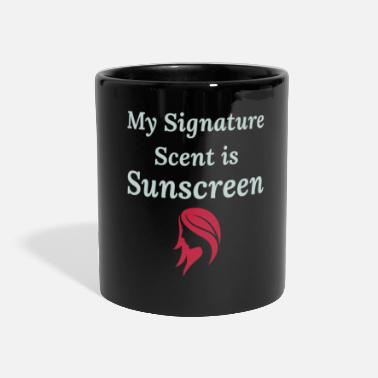 Roux Redhead Hair Sunscreen Citation Funny Humour Saying - Mug panoramique