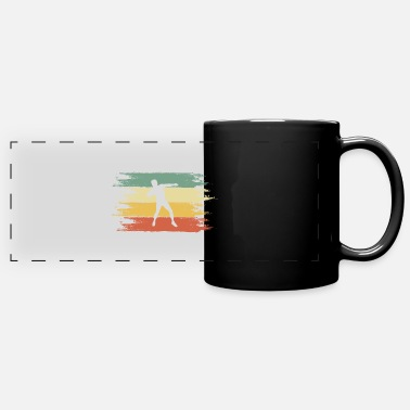 Putter Shot putter - Panoramic Mug