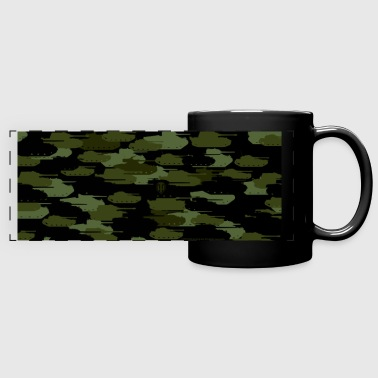 World of Tanks - Tank Camouflage Mug - Panoramatasse farbig