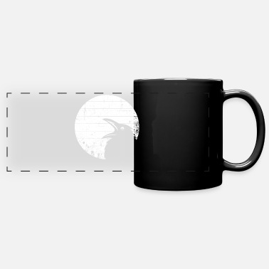 Crow Raven - crow - Panoramic Mug
