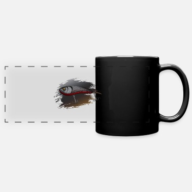 Predatory Fish Wobbler - predatory fish fishing - Panoramic Mug