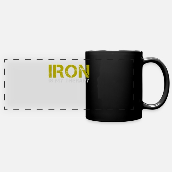 Chemistry Mugs & Drinkware - iron - Panoramic Mug black