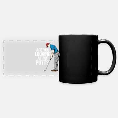 Cross Golfer Funny golf golfer golfer saying gift - Panoramic Mug