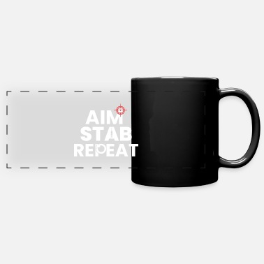 Repeat Aiming Repeat Repeat - Panoramic Mug