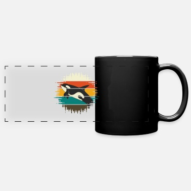 Sperm Whale Killer whale vintage - Panoramic Mug