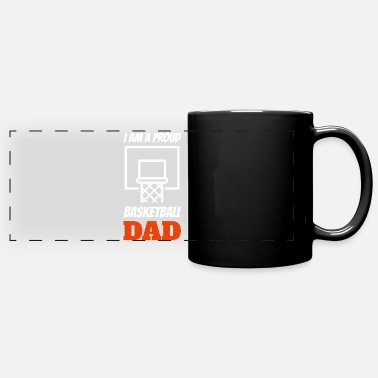 Watch Basketball Dad Father Son Father's Day Apparel - Panoramic Mug