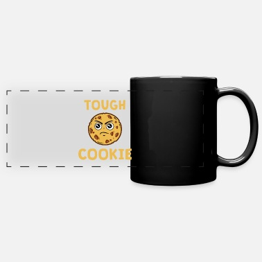 Cookie Tough cookie - chocolate biscuits - Panoramic Mug