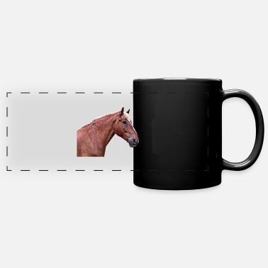 Fan Club Horse head horse saying dressage horse horse - Panoramic Mug