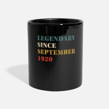 Since 1920 Legendary Since September 1920 - Panoramic Mug