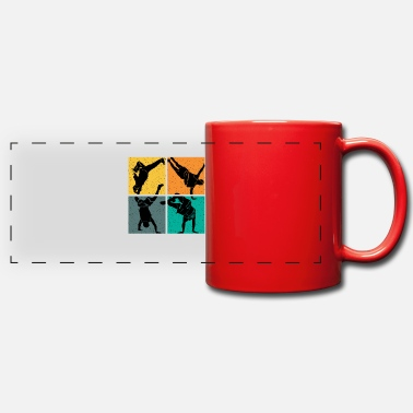 Break Dance Breakdance dance vintage - Panoramic Mug