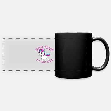 Funny Unicorn Funny unicorn - Panoramic Mug
