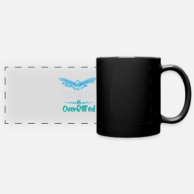 Swimmer Oxygen is overrated - Swimming - Panoramic Mug