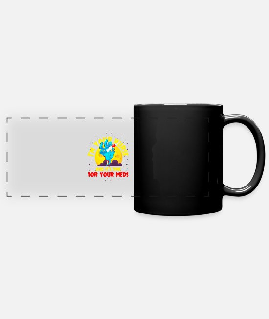 Medicine Mugs & Drinkware - Nurse women heroes gift medicine - Panoramic Mug black