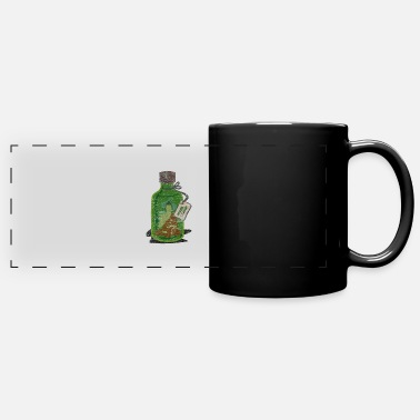 Monk Flower Herbal liquor monk wine - Panoramic Mug