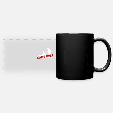 Game Over Game over - the game is over - Panoramic Mug