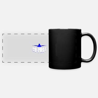 Copilot Airplane aviation copilot - Panoramic Mug
