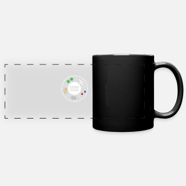 Cocaine Party drugs Druffi nose metabolism cocaine - Panoramic Mug