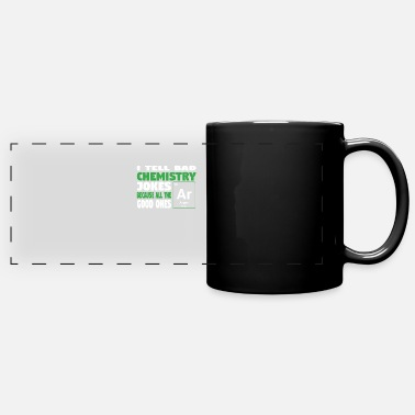Geekyscienceawkward I tell bad chemistry jokes - nerdy and geeky gift - Panoramic Mug
