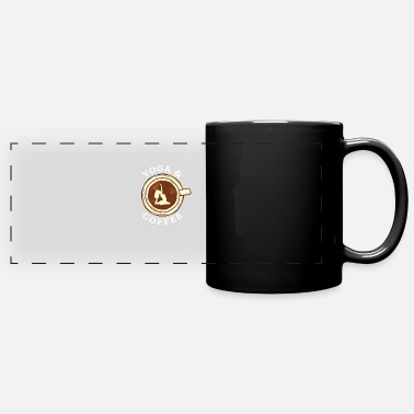 Morning Coffee Get Up In The Morning Barista Gift - Panoramic Mug