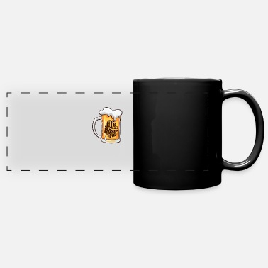 Beer Belly Beer drink party gift alcohol - Panoramic Mug