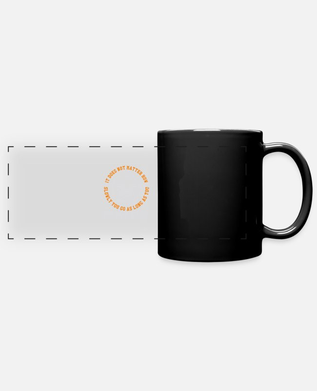 Mma Mugs & Drinkware - It does not matter - Panoramic Mug black