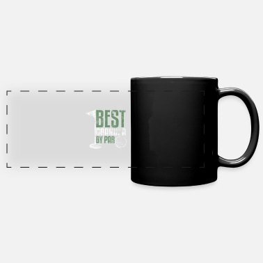 Best Grandpa By Par Father s Day Golf Grandad Golf - Panoramic Mug