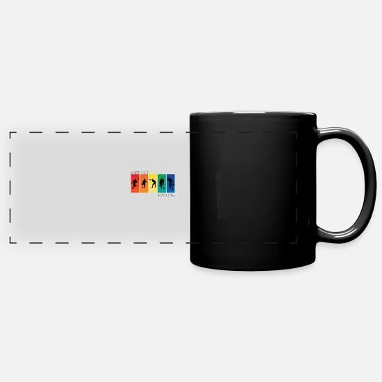 American Football Mugs & Drinkware - American football - Panoramic Mug black