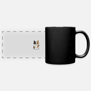 Domestic Cat Sweet cat domestic cat - Panoramic Mug