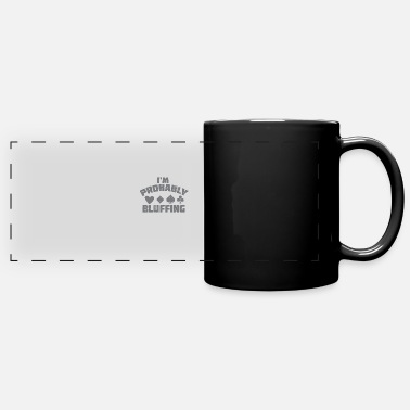 Bluff Poker bluff - Panoramic Mug