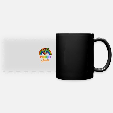 Proud Proud Mom - Panoramic Mug