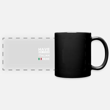 Together Have No Fear The Italian is here Pride Proud Italy - Panoramic Mug