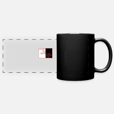 Emotions I always tell the truth even when I lie - Panoramic Mug