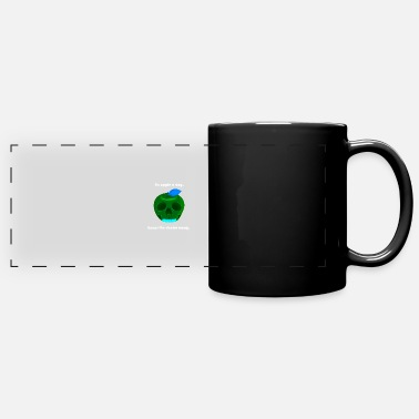 An apple a day - Panoramic Mug