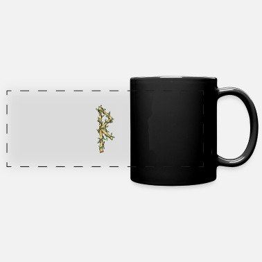 Dark Magic Rune Raidho - Panoramic Mug