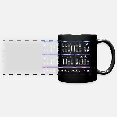 Synthesizer Synthesizer - Panoramic Mug