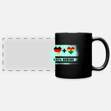 Kumasi Germany and Ghana 100% brilliant / gift - Panoramic Mug