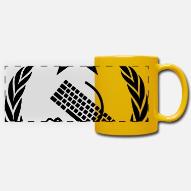 Mouse The keyboard and mouse Communist - Geek Flag - Panoramic Mug