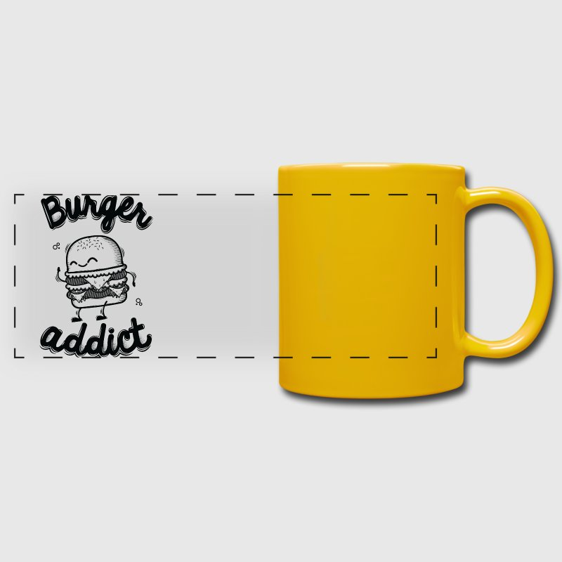 Burger Addict - Mug panoramique uni